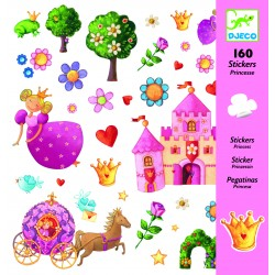 160 Stickers Princesse Marguerite - Djeco