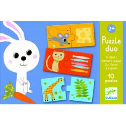 Puzzle - Duo A Table ! - Djeco