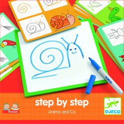 Step by step - Animals and Co - Djeco