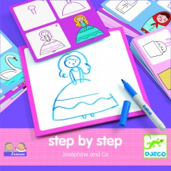 Step by step - Josephine and Co - Djeco