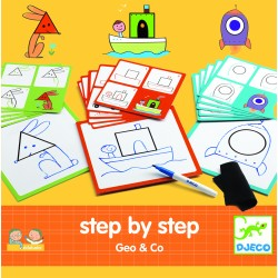 Step by step - Geo and Co - Djeco