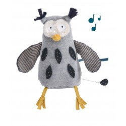 Monsieur Hibou Musical - Les Moustaches - Moulin Roty