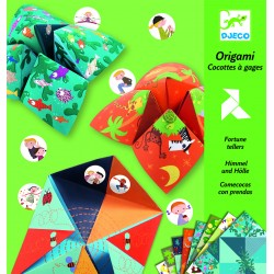 Origami - Cocottes à Gages Animaux - Djeco