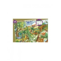 Puzzle Observation - Dinosaures - Djeco